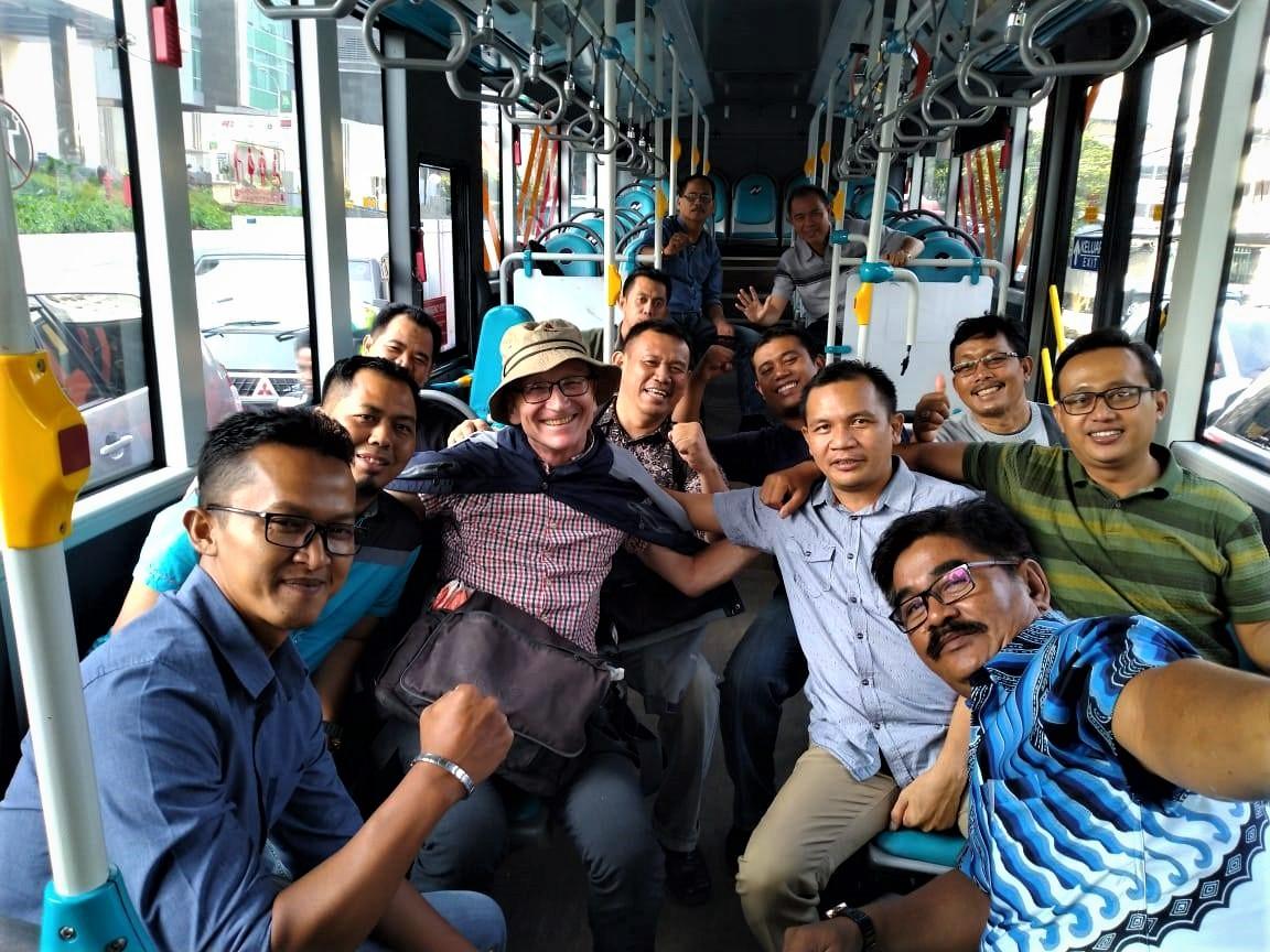 Jakarta: Agenten bei derArbeit